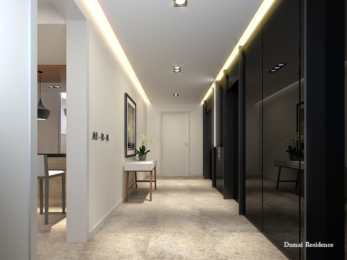 The gallery for --> Private Lift Lobby Design Ideas