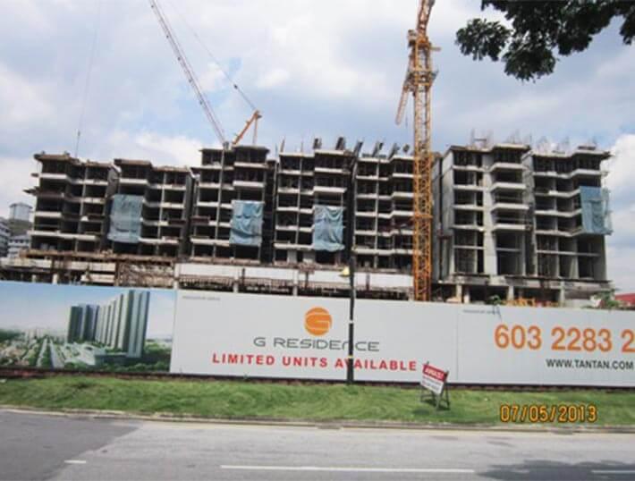 g-residence-progress
